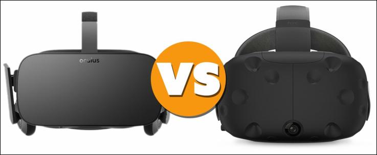 alquiler gafas oculus - Diferencias entre las gafas HTC Vive y Oculus Rift