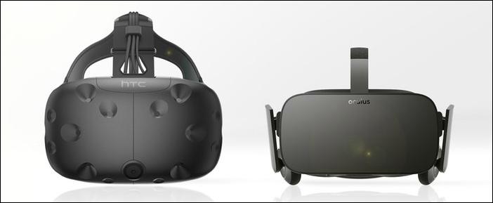 alquiler htc oculus - Qué tipos de gafas VR / realidad virtual hay en el mercado